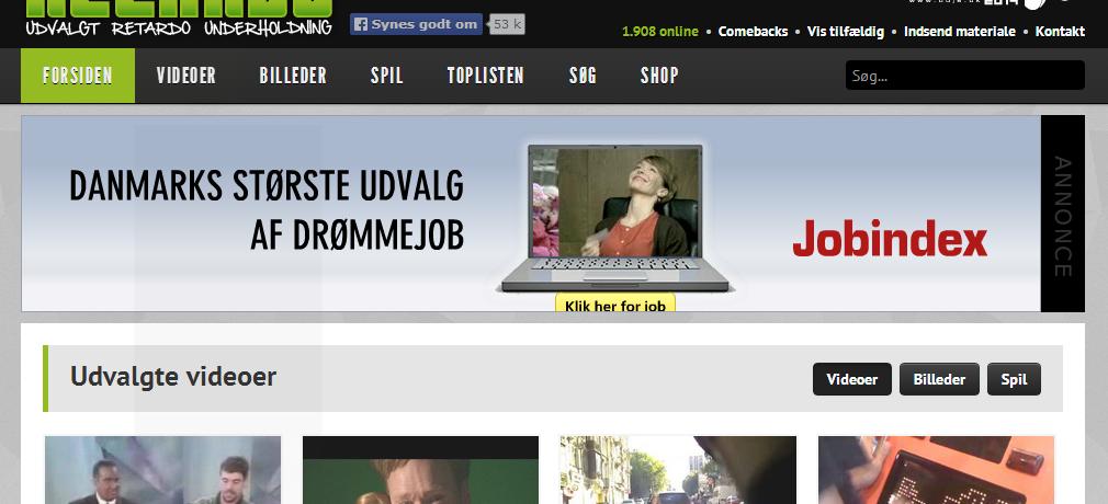 5 sjove danske hjemmesider